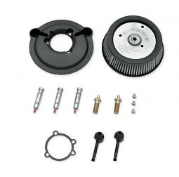 Harley-Davidson® Screamin' Eagle® Round High Flow Air Cleaner Kit | Sportster® | Black