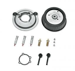 Harley-Davidson® Screamin' Eagle® Round High Flow Air Cleaner Kit | Sportster® | Chrome