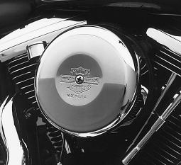 Harley-Davidson® Air Cleaner Cover | Nostalgic Bar & Shield | Twin Cam | Round