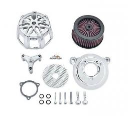 Harley-Davidson® Screamin' Eagle® Extreme Billet Air Cleaner Kit - Chisel - Chrome