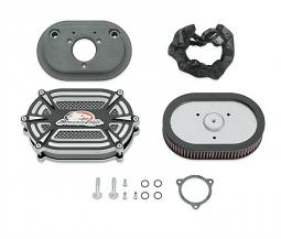 Harley-Davidson® Screamin' Eagle® Extreme Billet Ventilator Air Cleaner Kit | Cut Back Gloss Black