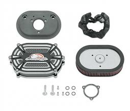 Harley-Davidson® Screamin' Eagle® Extreme Billet Ventilator Air Cleaner Kit | Cut Back Black