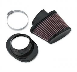 Harley-Davidson® Screamin' Eagle® High-Flo K&N Air Filter Element | Black
