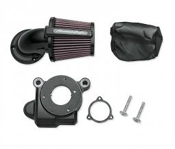 Harley-Davidson® Screamin' Eagle® Heavy Breather Elite Performance Air Cleaner Kit | Gloss Black