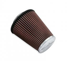 Harley-Davidson® Screamin' Eagle® K&N Air Filter Element | Multi-fit High-Flo Heavy Breather | Chrome