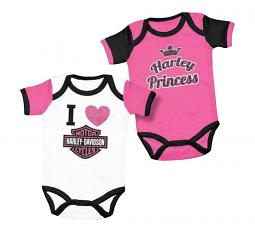 Harley-Davidson® Girls' 2-Piece Creeper Set | Harley® Princess