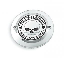 Harley-Davidson® Willie G® Skull Chrome Collection | Timer Cover | '04-Later Sportster® XL & XR Models