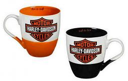 Harley-Davidson® Bar & Shield® Cup O'Java Gift Set | Two Ceramic Cups