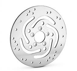 Harley-Davidson® Polished Brake Rotors | REAR