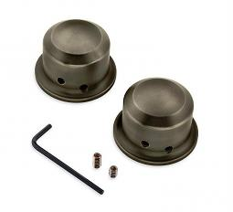 Harley-Davidson® Front Axle Nut Cover Kit | Brass Collection
