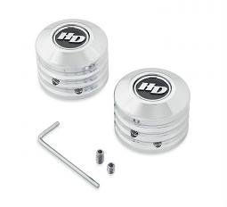 Harley-Davidson® Defiance Front Axle Nut Covers