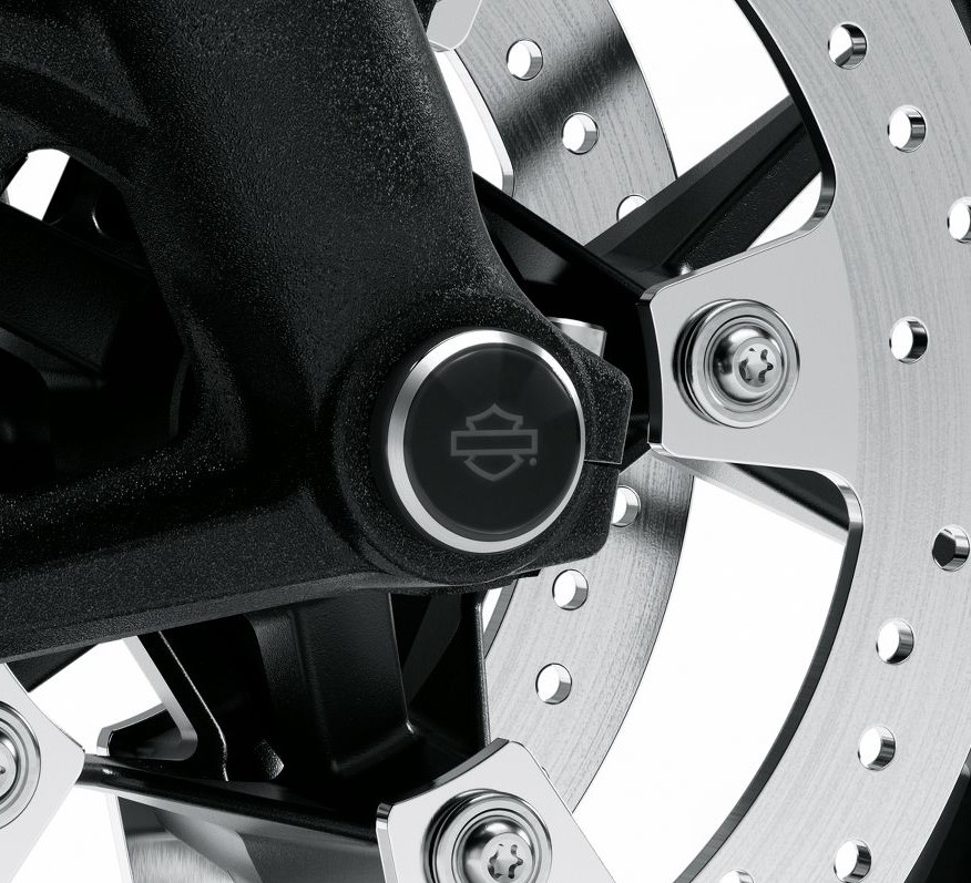 Harley-Davidson® LiveWire™ Front Axle Nut Covers