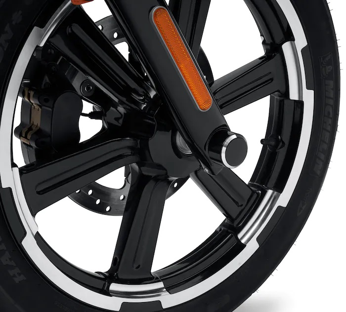 Harley-Davidson® Front Axle Nut Covers