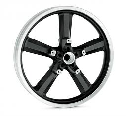 "Harley-Davidson® 5 Spoke 19"" Cast Front Wheel 