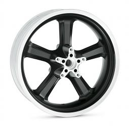 Harley-Davidson® 5 Spoke Wheel | Black | 18 Inch Rear