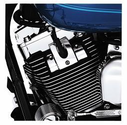 Harley-Davidson® Headbolt Bridge - Chrome