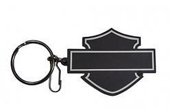 Harley-Davidson® Bar & Shield® Silhouette Key Chain