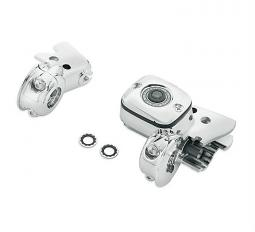 Harley-Davidson® Clutch Bracket and Master Cylinder Reservoir Kit | Chrome