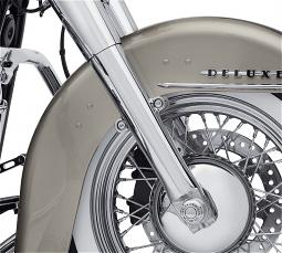 Harley-Davidson® Lower Fork Sliders | Front End | Chrome | '18-Later Softail® Deluxe, Heritage Softail® & Softail Slim® Models