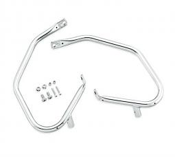 Harley-Davidson® Rear Saddlebag Guard Kit | Comfort Profile | Chrome