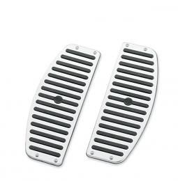 Harley-Davidson®Chrome and Rubber Rider Footboard Inserts