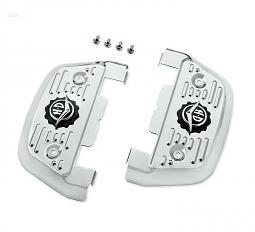 Harley-Davidson® Passenger Footboard Covers | Road King® Classic