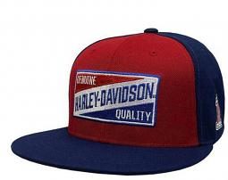Harley-Davidson® Men's Go Faster Snap-Back Baseball Cap | Two Tone | One Size Fits Most