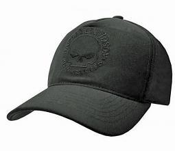 Harley-Davidson® Men's Tonal Willie G® Skull Snap-Back Baseball Cap   One Size Fits Most