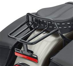 Harley-Davidson® HoldFast™ Two-Up Luggage Rack Kit | Gloss Black | '18-Later Softail® Models