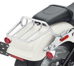 Harley-Davidson® HoldFast™ Two-Up Luggage Rack Kit | Chrome | '18-Later Fat Boy® & Breakout® Models