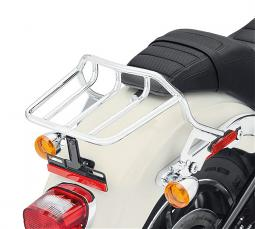 Harley-Davidson® HoldFast™ Two-Up Luggage Rack Kit | Chrome | '18-Later Sport Glide® & Low Rider® Models