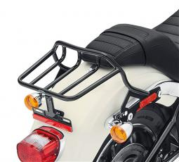 Harley-Davidson® HoldFast™ Two-Up Luggage Rack Kit | Gloss Black | '18-Later Sport Glide® & Low Rider® Models