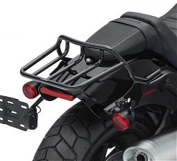 Harley-Davidson® HoldFast™ Two-Up Luggage Rack Kit | Chrome | '18-Later Fat Boy® Models