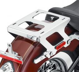 Harley-Davidson® Holdfast™ Detachable Solo Tour-Pak® Luggage Mounting Rack | Chrome