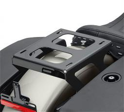 Harley-Davidson® Holdfast™ Detachable Solo Tour-Pak® Luggage Mounting Rack | Gloss Black