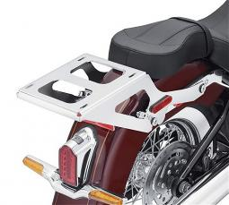 Harley-Davidson® Holdfast™ Detachable Two-Up Tour-Pak® Luggage Mounting Rack | Chrome