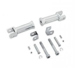 Harley-Davidson® Passenger Footpeg Support Kit | Chrome | Milwaukee Eight® Softail®