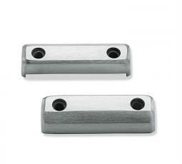 Harley-Davidson® Dominion™ Collection | Footpeg Trim Pieces | Brushed Aluminum