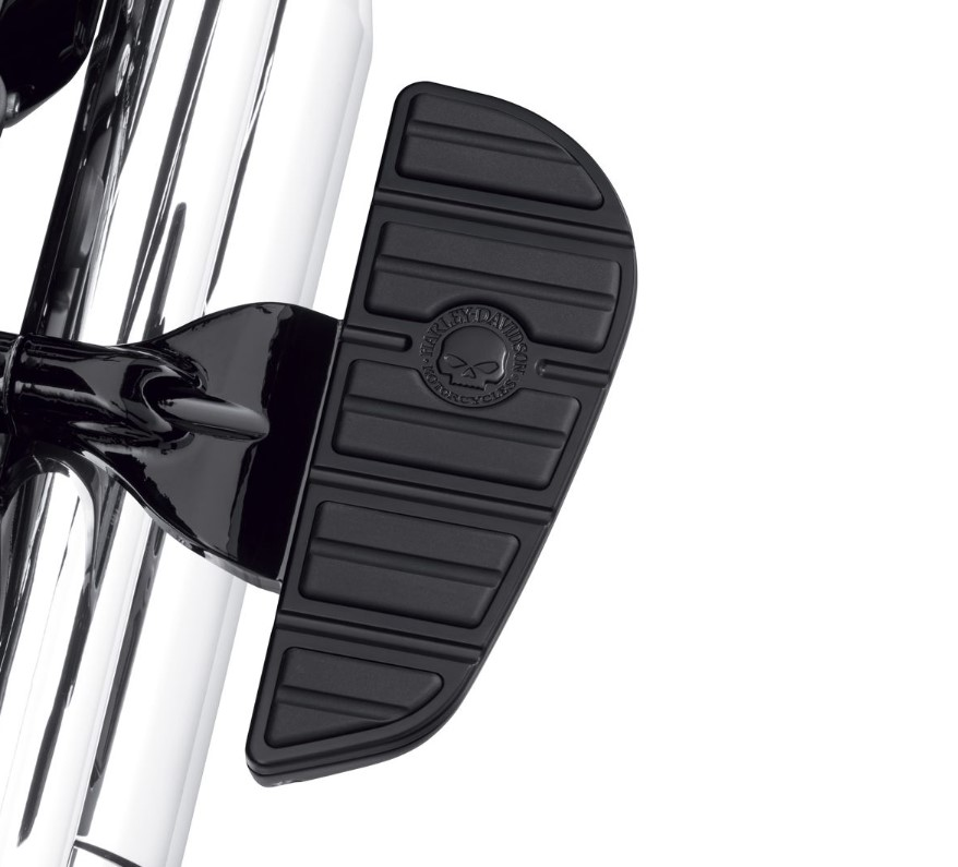 Harley-Davidson® Willie G® Skull Passenger Footboard Insert Kit | Black | Contemporary Style