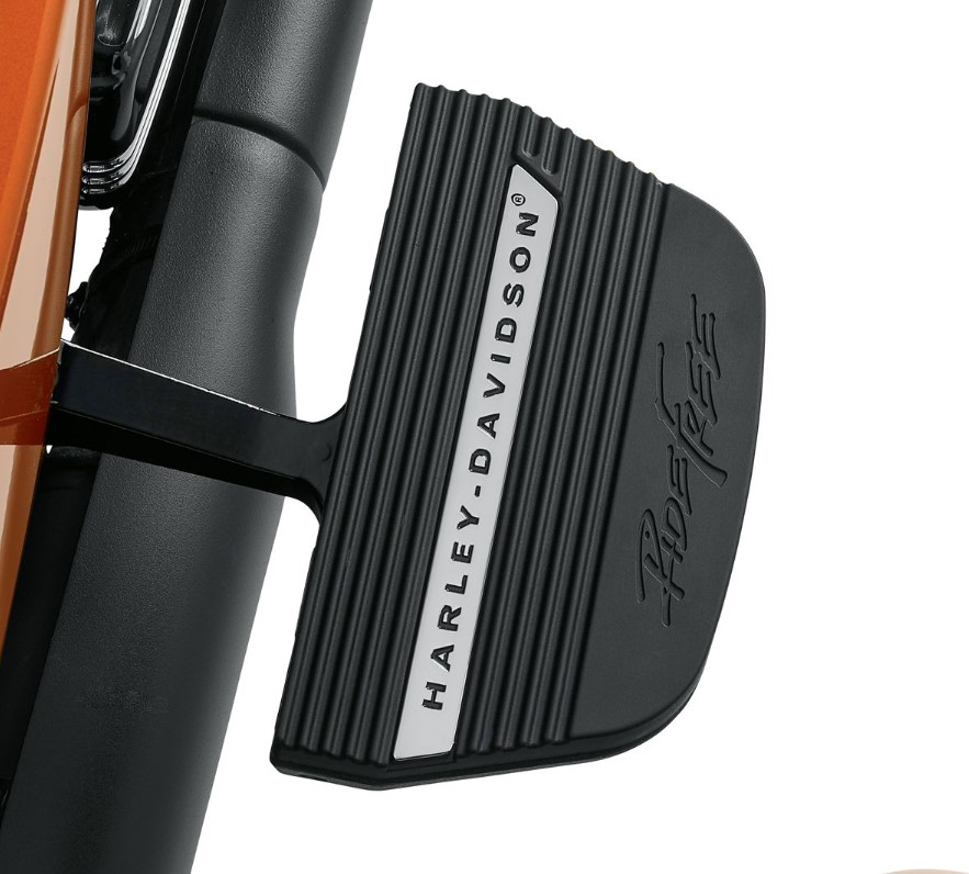Harley-Davidson® Ride Free™ Passenger Footboard Inserts | Traditional Style