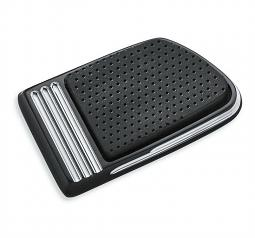 Harley-Davidson® Brake Pedal Pad | Defiance | Black Anodized Machine Cut | Small