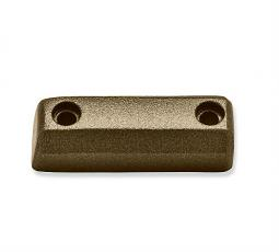 Harley-Davidson® Dominion™ Collection | Small Brake Pedal Pad Trim Piece | Bronze