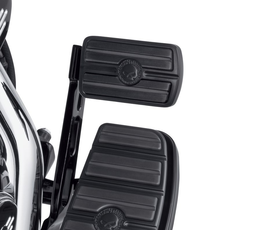 Harley-Davidson® Willie G Skull Large Brake Pedal Pad