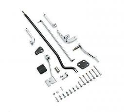 Harley-Davidson® Reduced Reach® Forward Control Kit - Dyna® - Chrome