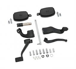Harley-Davidson® Further Forward Mid-Control Kit | Gloss Black | '14-Later XL Sportster® Models