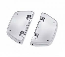 Harley-Davidson® Passenger Footboard Pans | Chrome