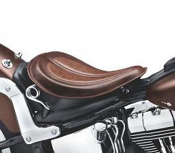 Harley-Davidson® Solo Saddle | Distressed Brown
