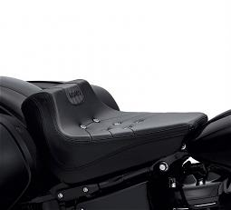 Harley-Davidson® Bevel Solo Seat | '18-Later Sport Glide™ & Low Rider® | Black