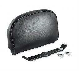 Harley-Davidson® Passenger Backrest Pad | Compact | Smooth Black Vinyl | '18-Later Softail® Models