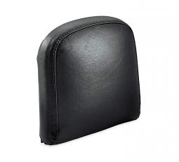 Harley-Davidson® Passenger Backrest Pad | Mid-Sized | Smooth Black Vinyl | '18-Later Softail® Models